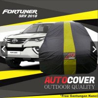 AUTOCOVER Mobil FORTUNER SRV Waterproof/sarung tutup bodymobil outdoor