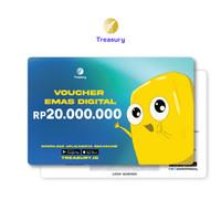 Voucher Emas Fisik Treasury - Rp20.000.000