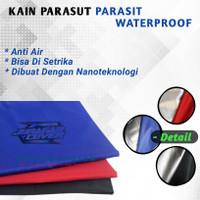 Bahan Kain Waterproof Parasit Parasut Polos Harga Meterran