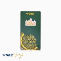 UBS ANGPAO 24K IDUL FITRI MASJID 0.1 GR