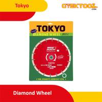 """Tokyo Diamond Wheel 7"""" Mata Pisau Potong Keramik Granit 7 Inch 180 mm"""
