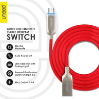 Uneed SWITCH Auto Disconnect Cable Micro USB QC 3.0