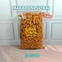 MAKARONI SPIRAL ASIN/PEDAS ISI 250 GRAM NETT