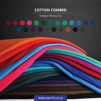 KAIN KAOS | COTTON COMBED 30S TUA | BAHAN KATUN (0.50 KG) PART A