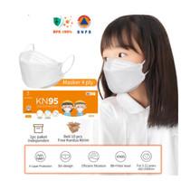 Masker KN95 EVO Anak Masker 10pcs 4ply Masker Wajah Earloop izin BNPB