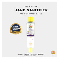 Germ Killer Gk Hand Sanitiser Gel Desinfektan 60 mL