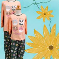 Baju Tidur Anak Anne Claire (4 Donuts) St. Lgn pJg Cln Pjg
