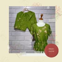 Baju Bali / Setelan Pendek Bali / Baby Doll Tie Dye Smoke Bali Murah