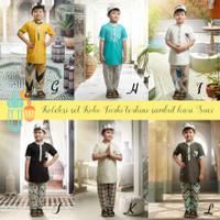 Set Koko Turki Baju Lebaran Anak laki-laki muslim ECERAN