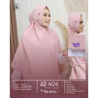 Hijab Jilbab Instan Jumbo Motif Non Pet Tali AR 494 Arrafi Terbaru