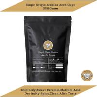 KOPI ARABIKA ACEH GAYO 250GR BIJI / BUBUK | SPECIALTY ARABICA COFFEE