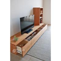 meja tv rak tv minimalis serbaguna bufet tv jati meja tv jati bufet tv