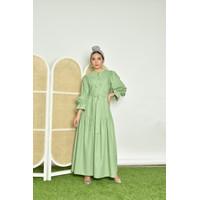 SIDELINE - Liyaca Dress Sage - Element Vol.4