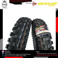 BAN LUAR DUNLOP MURAH MOTOCROSS TRAIL GEOMAX MX52 100/100 RING 18