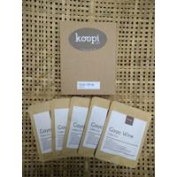 KoopiCoffee Drip box Coffee Arabica Gayo Wine - 5 sachets