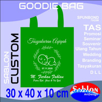 Tas Spunbond + Sablon Custom 30 x 40 x 10 cm TALI