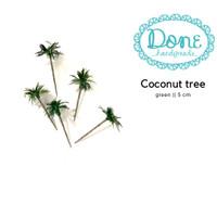 Pohon mini artificial coconut tree pohon kelapa tiruan diorama 5cm