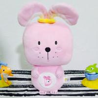 Boneka Kelinci Karakter Warna Pink Rabbit Square Series