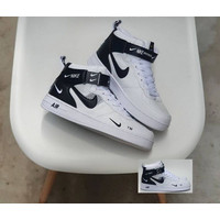Sepatu Casual Safety Nike Air Force 1 07 MID NBA Sneakers Premium 1