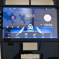 Paket Head unit include 2 Head rest all android 10inc AVIX High end