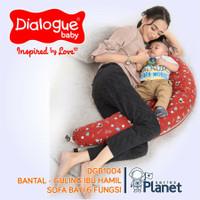 Bantal Guling Ibu Hamil, Menyusui &Sofa Bantal Bayi 6in1 Dialogue Baby