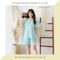 Baju Tidur Piyama Wanita GREET Katun Jepang K-311 HK