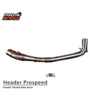 Header Only New Aerox 150 Inlet 45 mm