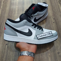 Sepatu Air Jordan 1 Low Light Smoke Grey