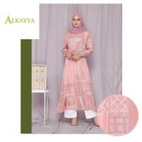 Grosir Baju Busana Muslim Murah Selma Dress by Alkayya