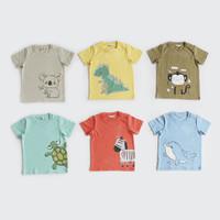 Baju Pendek Bayi / Kaos Anak / I Am Cotton Casual Slub