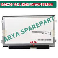 Layar Screen LED LCD Asus EeePC Eee PC 1025 1025B 1025C 1025CE 10.1