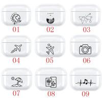 Airpods Pro Clear Art Case - Casing Airpods Gen 3