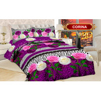 BED COVER / BEDCOVER BONITA 180x200 (FITTED/KARET)