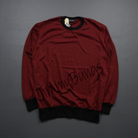 Baju Kaos Cowok Lengan Panjang / Sweatshirt Pria / Semi Sweater Murah