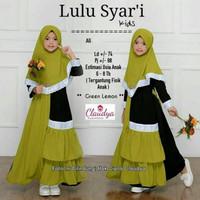 Gamis Anak | Fashion Muslim | Lulu Syari | Mosscrepe