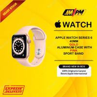 Apple Watch Series 6 GPS 40MM Gold Alumunium Pinksand Sportband