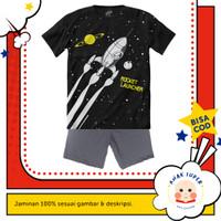 Baju anak laki-laki / Setelan anak laki-laki motif Rocket Launcher - 9-10 tahun