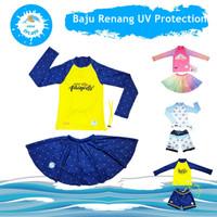 Baju Renang Anak Laki Perempuan Celana Rok UV Protection KIDDIE SPLASH