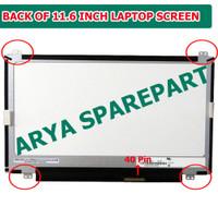 Layar LCD LED 11.6 Inch Acer Aspire One 722 AOD 725 AOD 756