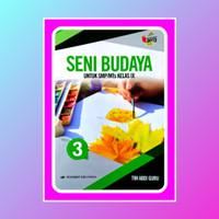 Buku Seni Budaya kelas 9 SMP/MTs terbitan Erlangga kurikulum 2013