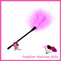 Neko Mimi Feather Mainan Bulu Penggeli Aksesoris Bercinta TOO002