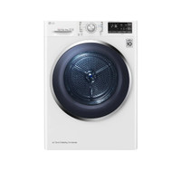 LG RV09VHP5W Pengering Pakaian Dryer LG 9kg, Front Loading