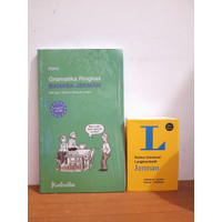 Paket Buku Gramatika Ringkas & Kamus Langenscheidt Bahasa Jerman