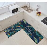 2in1 Kitchen Floor Mat/ Keset Alas Lantai Rumah Dapur Anti Selip New 1