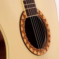 [Sedang Diskon] Gitar Akustik Mandalika NATURAL JW-01 EQ7545