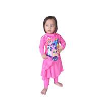 Baju renang muslim muslimah anak TK usia 2-6 tahun karakter