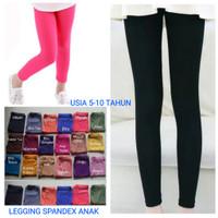 Legging Anak Usia 5-10 Tahun/Spandex Balon Tebal adem/Legging Murah