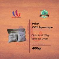 PAKET CO2 DIY CITRIC ACID DAN BAKING SODA CISOD CITRUN UNTUK AQUASCAPE