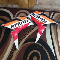 Fairing kanan kiri Cbr 150 r led repsol original copotan Cover sayap