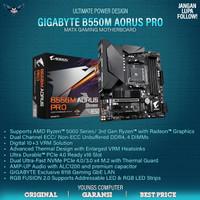 GIGABYTE B550M AORUS PRO AM4 mATX DDR4 M.2 NVMe MOTHERBOARD AMD